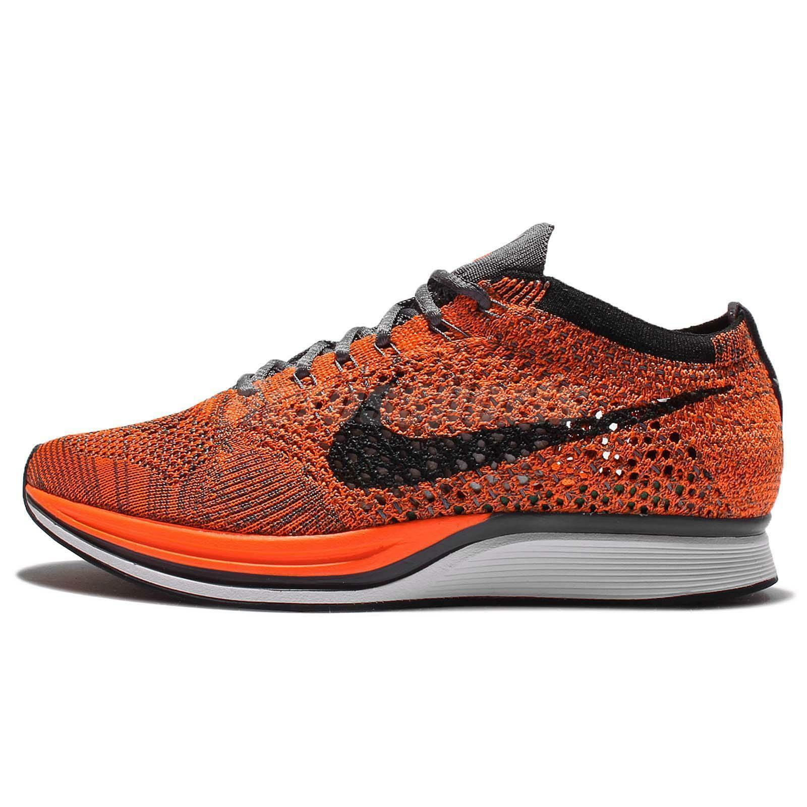 cheap for discount 1dcd8 9c5d8 57. 57. Previous. NIKE pour FEMMES Flyknit Débardeur Chaussures Orange  Blanc Gris ...