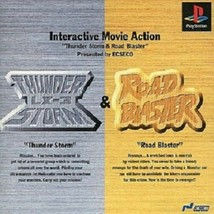 Thunder Storm and Road Blaster PS Playstation JAPAN - $54.33