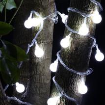 5m 40 LEDs Ball Globe Fairy String Light(WHITE US) - $10.65