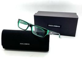 Authentic Dolce & Gabbana DG 1204 1773 Black/Green 51*16*135 Eyeglasses ... - $67.87
