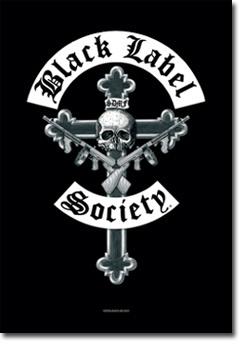 Black label society textile poster 8440