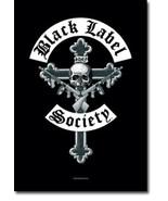 Black Label Society Textile Poster (Crucifix) - $18.00