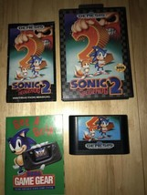 Sonic The Hedgehog 2 Sega Genesis Complete In Box W/ Manual Cib New Other - $23.00