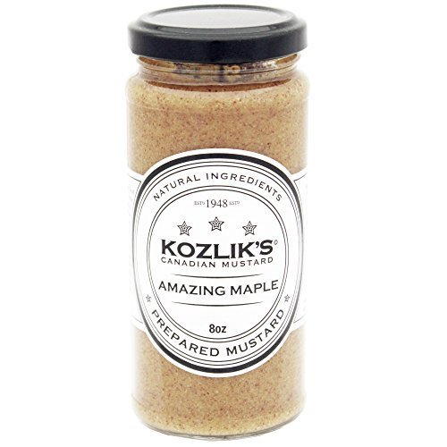 Kozliks Amazing Maple Mustard (8.5 ounce)