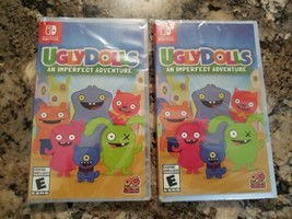 2× Ugly Dolls An Imperfect Adventure (Nintendo Switch, 2019) - New 2 Pack - $34.77
