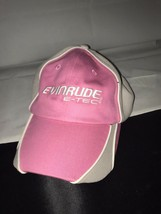 Evinrude Hat Ladies Pink And White  Adjustable Velcro Hat - €4,48 EUR