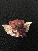 Beautiful silver tone boyd's bear BROOCH pin vintage jewelry - $3.95