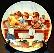"""""""The Taste Test""""  by Jeanne Down Plate with Box ( Knowles ) AA20-CP2201 ... - $59.95"""