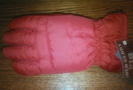 Youth Red Thermosoft Gloves Size L/XL Insulation Faded Glory Ski Waterpr... - $192,39 MXN