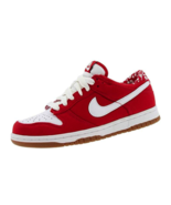 NIKE Womens Shoes Dunk Low CL Sneakers Retro Classic 317815 611 Red - $44.99