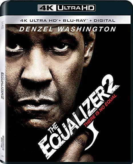 The Equalizer 2 (4K Ultra HD + Blu-ray, 2019)