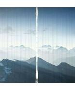 Curtains Mountain Ranges Print Backdrop 21255 - $72.22