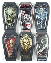 Novelty Coffin Refillable Lighter - One Lighter W/Random Color and Design