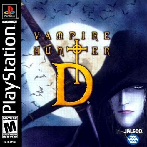 Vampire Hunter D PS1 Great Condition Fast Shipping