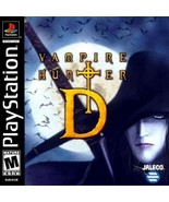 Vampire Hunter D PS1 Great Condition Fast Shipping - $29.93