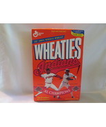Cleveland Indians 1995 AL Champions Unopened Wheaties Box  - £7.20 GBP