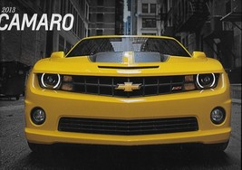 2013 Chevrolet CAMARO brochure catalog 13 Chevy Coupe Convertible RS SS ... - $8.00