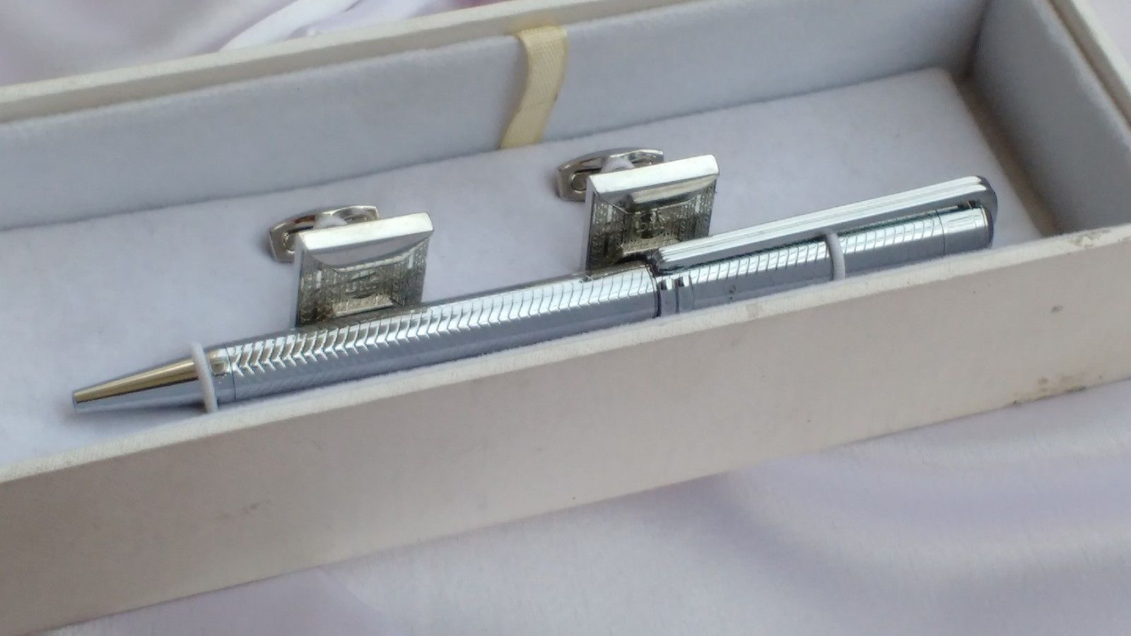 Christian Dior ball point pen with cufflinks - Rare collection