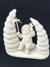 Department 56 Snowbabies When The Bough Breaks Retired 2001 Snow Baby on... - $39.55