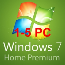 1-5pc Windows 7 home premium 32/64 BITS- OEM Product key code KPP - $13.55