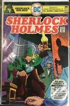 Sherlock Holmes #1 Dc Comics 1975 Bronze Age Dc - $25.96