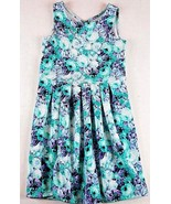 Jessica Simpson Girls Floral Muti Color Pleated Stretch Sleeveless Tank ... - $4.25