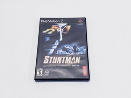 STUNTMAN PS2 GAME (SONY PS2, 2002) COMPLETE WITH CASE, GAME, AND MANUAL - $7.99