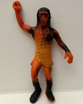 Vtg Rubber Caveman Jiggler Toy Figure Hong Kong Prehistoric Cave 60s Act... - $35.09