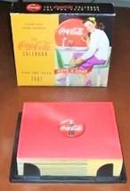 Coca Cola Desk Calendar Daily 2002 - $18.52
