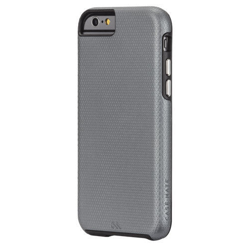 CaseMate Tough Shockproof Hybrid TWO Cases for iPhone 6 iPhone 6S Gray Free P&P