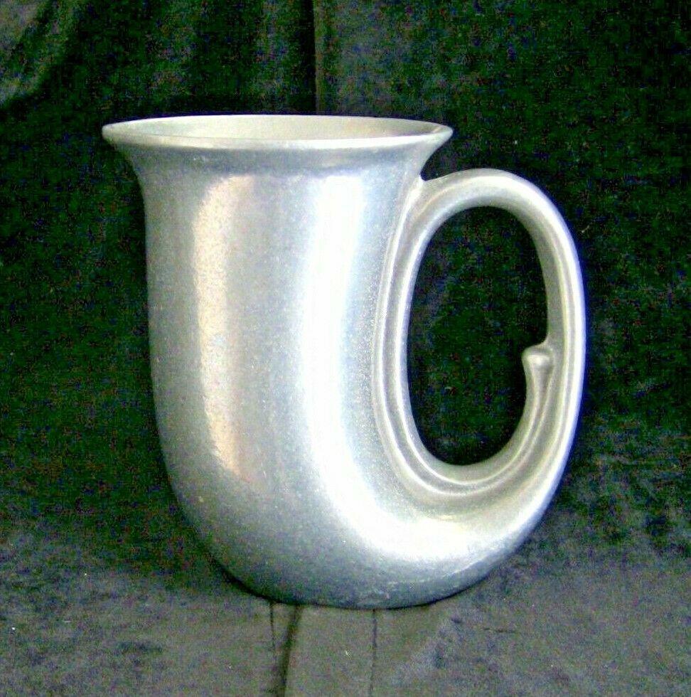 "Vintage Wilton Armetale USA Pewter Tavern Stein Horn Mug Cup 5""  Collectable VTG - $11.64"