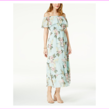 MAISON JULES Womens Off Shoulder Floral Short Sleeve Dress - $26.80