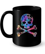 Death Skull and Crossbones Jolly Roger Military Ceramic Mug - $13.99+