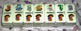 DORA the EXPLORER DOMINOES GAME- Tin Case 2005  - $4.95
