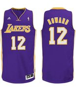 New Adidas Dwight Howard Purple Swingman # 12 Los Angeles Lakers Jersey Sz XL - $50.00