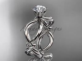 Platinum twisted rope wedding ring RP8192 - $1,275.00