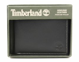 Timberland Men's Genuine Leather Passcase Credit Card Id Billfold Wallet image 8