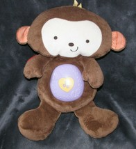 "Fisher Price SnugaMonkey Monkey Musical Light-Up 13"" Sleep Soother Nature Plush - $36.62"