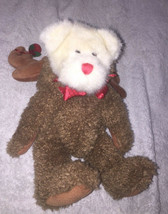 Teddy Bear Boyds Bears Rudy Pitoody Plush Toy JB Bean Series Jointed Retired Vtg - $11.83