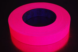 1 inch 50 yard uv pink blacklight gaffer tape1 thumb200