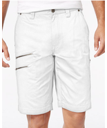 I.N.C. Men's Elton Shorts, White Pur, Size 36, MSRP $49 - $29.69