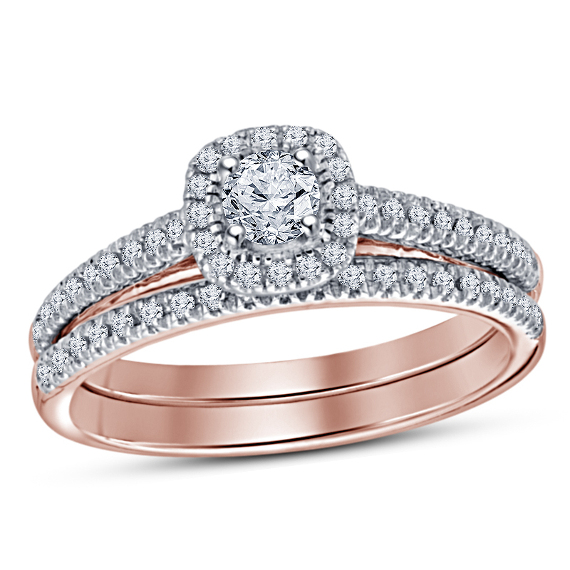 Wedding and engagement ring sets white gold 6 rg25667 a