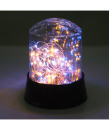 LED Colorful Firework Starry Light Decoration Table Nightlight Battery P... - $13.00