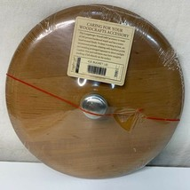 2002 Longaberger Woodcrafts Ice Bucket Lid #50842 Made In USA New/Sealed - $50.00