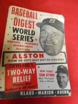 Great Collectible BASEBALL DIGEST Oct.1955 ALSTON and the DODGERS-Yanks ... - $14.44