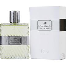 Eau Sauvage By Christian Dior Edt Spray 3.4 Oz 100% Authentic - $106.96