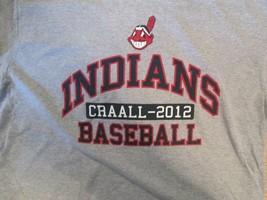 Cleveland Indiands Craall 2012 Baseball T Shirt Size L - $2.99