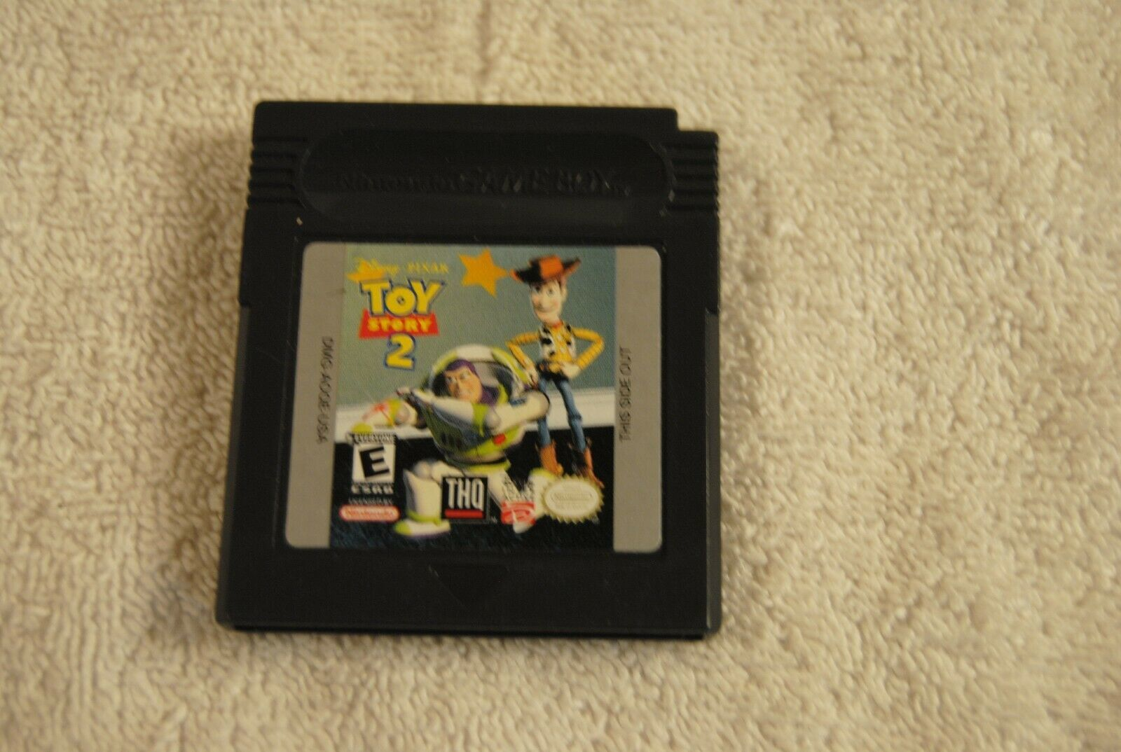 Toy Story 2 (Nintendo Game Boy Color, 1999) Gameboy