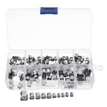 145Pcs 10 Values SMD 0.47 to 470uF Electrolytic Capacitor Assortment Kit... - $13.30