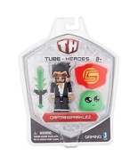 Tube Heroes Gaming CaptainSparklez Action Figure 8+ - $12.31